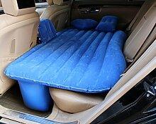 HAOXIAOZI Auto-Reise-aufblasbares Bett Das Kampierenden SUV-Rücksitz Schart,Blue