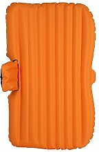 HAOXIAOZI Auto-SUV-Luftmatratze-starkes Reise-aufblasbares Bett Im Freien,Orange