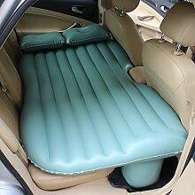 HAOXIAOZI Wasserdichtes SUV-Auto-aufblasbares Bett-Rücksitz-erwachsenes Tragbares Bett,Green