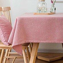 Haoxp Einfarbig couchtisch tischdecke Tuch