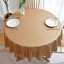 Haoxp Runde Tischdecke wasserdicht und