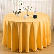 Haoxp Runde Tischdecke wasserdicht und Antifouling