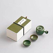 HAOYONGDE Keramik Kung Fu Tee Set Tragbare Ton