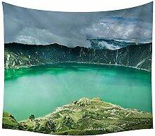 haoyunlai Natürliche Landschaft Tapisserie Wald