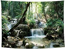 haoyunlai Wald Pflanze Landschaft Wandteppich