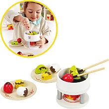 Hape Schokoladen Fondue aus Holz [Kinderspielzeug]
