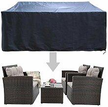 HAPLIFE Terrassenmöbel-Set Abdeckungen für