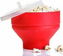 Happt Mikrowelle Popcorn Popper Silikon Popcorn