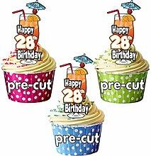 Happy 28. Geburtstag Cocktail