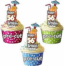 Happy 56TH Geburtstag Cocktail