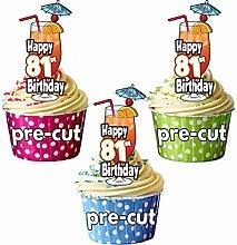 Happy 81st Geburtstag Cocktail
