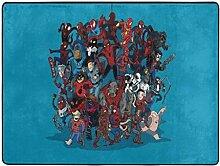 Happy and Ness Spiderman handgezeichneten Cartoon