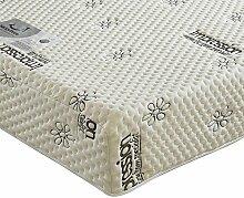 Happy Beds 2000Orthopädisches Memory Visco Regular Matratze, verschiedene Größen, Weiß, Euro King (160 x 200 cm)