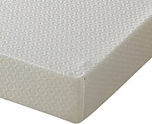 Happy Beds Memory 6000 feste Matratze, weiß, Euro King (160 x 200 cm)