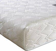 Happy Beds Ultimate Ortho Orthopädische Reflex-Schaumstoff-Matratze, extra fest, verschiedene Größen, weiß, King (150 x 200 cm)