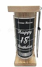 Happy Birthday 18 Eiserne Reserve Spardose incl.