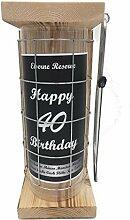 Happy Birthday 40 Eiserne Reserve Spardose incl.