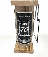 Happy Birthday 70 Eiserne Reserve Spardose incl.