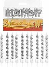 Happy Birthday Kuchen Topper Buchstaben Kerze