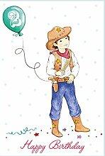Happy Birthday Süße Kindergeburtstagskarte für