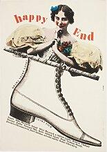 Happy End Filmposter von Milan Grygar, 1967