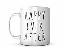 Happy Ever After Keramik Tasse Kaffee Tee Becher