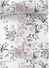 Happy Friday | Tagesdecke zarter Blumenstrauß