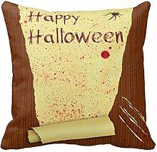 Happy Halloween Bloody Tapete–Kissen