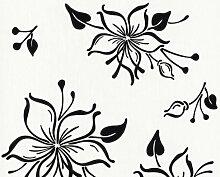 Happy Hour Tapete - Material: in weiß, schwarz