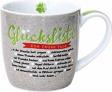 Happy Life 45733 Cappuccino-Tasse Glücksliste,