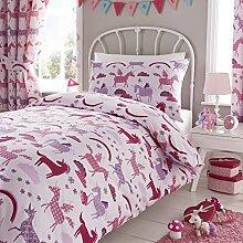 Happy Linen Co - Mädchen Bettwäsche-Set mit