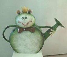 HAPPY METALL Gießkanne Frosch