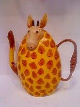 HAPPY METALL Gießkanne Giraffe