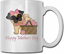 Happy Mother's Day Puppy Custom Coffee Mugs 11