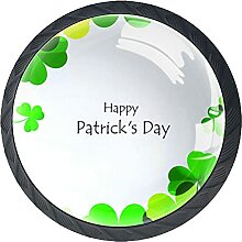 Happy Saint Patrick's Day Logo, 4Pack ABS