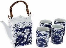 Happy Sales Japanese Porcelain Tea Set Imperial