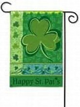 Happy St. Pat's Garden Flag