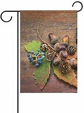 Happy Thanksgiving Day Kiefernnuss Gartenhaus für