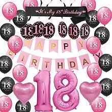 Happyhours Deko Geburtstag 18 Mädchen
