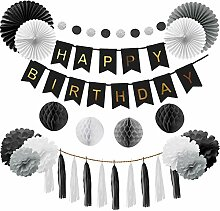 Happyhours Deko Geburtstag Birthday Girlande