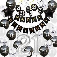 Happyhours Geburtstagsdeko 21 Geburtstag Deko