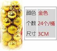 HAPPYLR Weihnachtskugeln Weihnachtsschmuck 3 /8cm