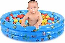 Happyshop18 Aufblasbarer Kinder-Pool für Babys,