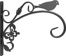 Happyyami Eisen Anlage Halterung Metall Blume