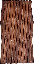 Happyyami Holz Wand Spalier Holz Zaun Anlage