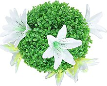 Happyyami Künstliche Pflanze Topiary Ball