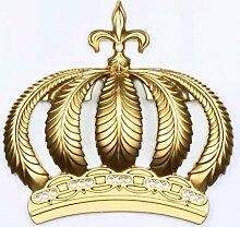 Harald Glööckler 52718 Krone mit Swarovski Steinen, Gold