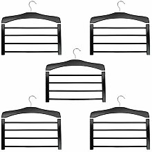 Harbor Haushalt Holzhosenhalter mit Multi Bar -