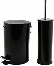 Harbour Housewares Badezimmer-Set mit Treteimer &