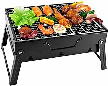 Harddo BBQ Grill, tragbarer Barbecue Grill für